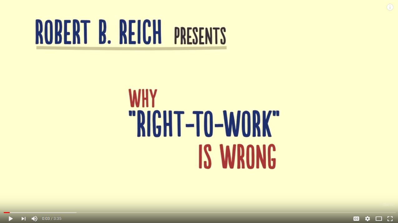 �Right-to-Work� is bad for US workers, and it would be bad for Canadian workers too�